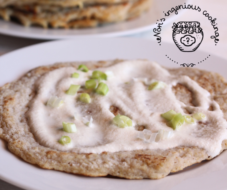 Potato flatbread #vegan #glutenfree |ingeniouscooking.com