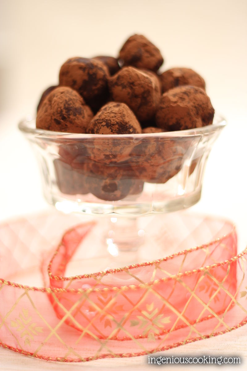 Cherry chilli truffles that make you forget they're actually sugar- and dairy-free