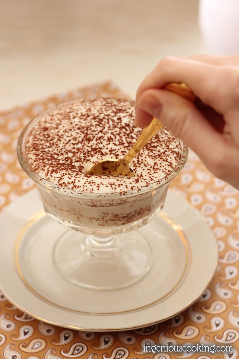 Gluten-free vegan tiramisu that is low in carbs and doesn*t taste like coconut