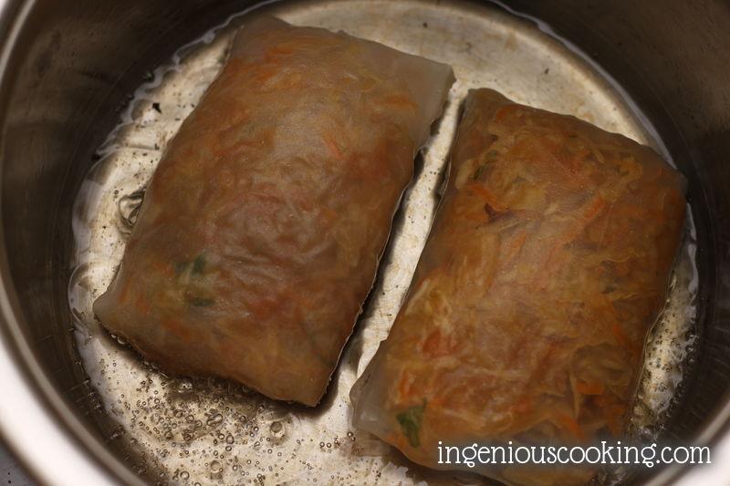 Spring rolls - simply vegan - gluten free