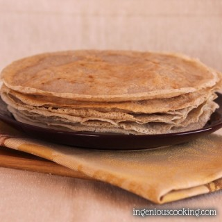 Vegan & gluten-free galettes – buckwheat pancakes, thin & light as air!