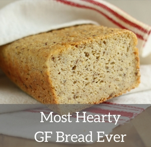 The most hearty gluten-free bread you ever had!