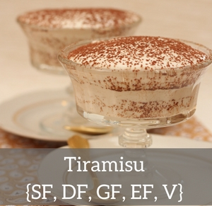 Tiramis - without sugar, gluten, dairy or eggs